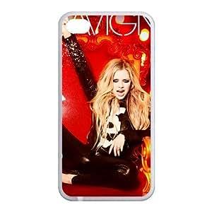 Custom Avril Back Case for iphone4,4S JN4S-169