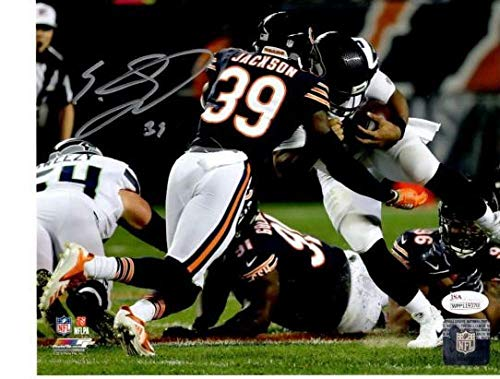 - Eddie Jackson Signed Photo - Tackle 8x10 Wpp119370 - JSA Certified - Autographed NFL Photos