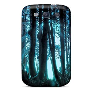 Galaxy S3 Case Cover - Slim Fit Tpu Protector Shock Absorbent Case (thrilling Jungle)