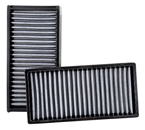 K&N VF2022 Washable & Reusable Cabin Air Filter Cleans and Freshens Incoming Air for your Honda, Acura