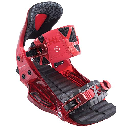 Hyperlite 2019 The System Binding Pro Wakeboard Boots Red Size 10/13