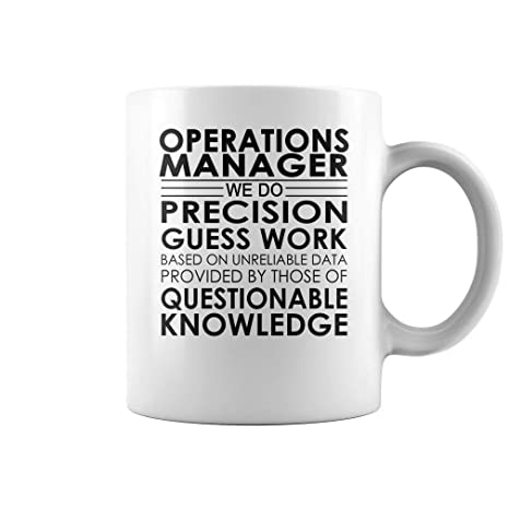 Amazon com: Operations Manager Precision Guess Work Job