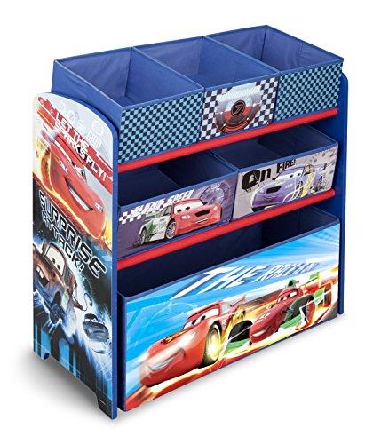 Delta Children Multi-Bin Toy Organizer, Disney/Pixar Cars