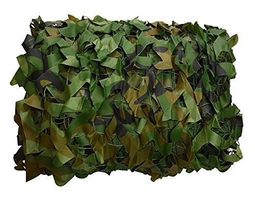 .5x10ft Woodland Camouflage Net ()