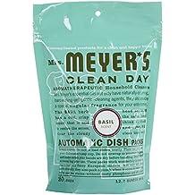 Mrs. Meyer's Clean Day Automatic Dishwashing Packs - 12.7 oz - Basil