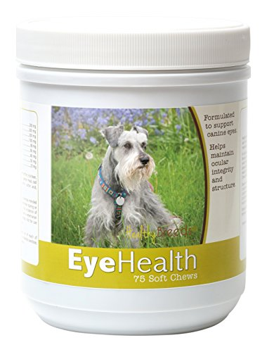 Healthy Breeds – Dog Eye Care Support for Miniature Schna...