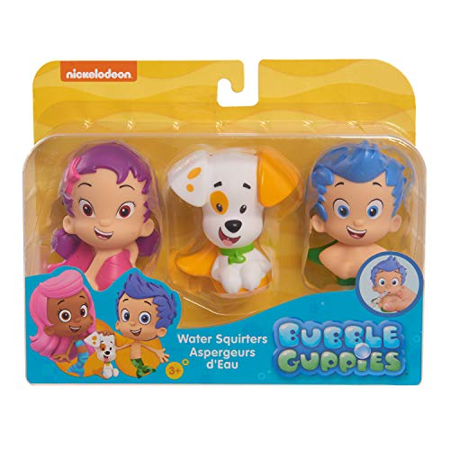 Bubble Guppies 3Pk Bath Squirter(Gil, Ooona, Bubble