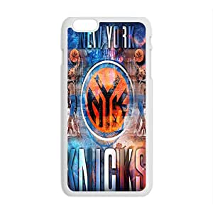 New York Knicks NBA White Phone Case for iPhone plus 6 Case
