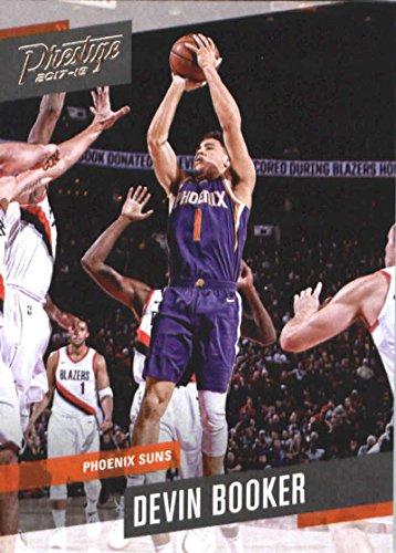 1867c5f4 Amazon.com: 2017-18 Panini Prestige #121 Devin Booker Phoenix Suns  Basketball Card: Collectibles & Fine Art