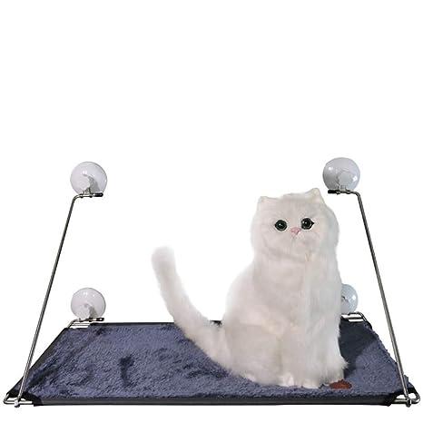 JLFAIRY Camas para Ventanas con Ventosa 63 * 37 * 5 Cm Gato Y Perro Hamaca