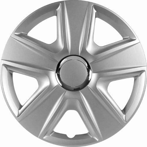 Universal Radzierblende Esprit Silber 14 Zoll Für Viele Fahrzeuge Passend Auto