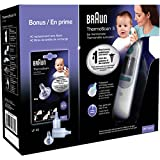 Braun ThermoScan IR Ear Thermometer with ExacTemp Technology