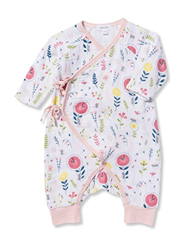 Angel Dear Cotton Muslin Hickory Dickory Dock Kimono Wrap Coveralls Sweet Angel Shirt