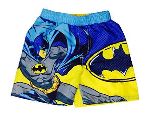 Dc Comics Batman Little Boy Swimsuit Swim Trunk Size 4-7 (4/5)