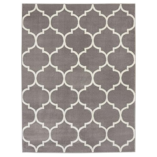 Cheap  Sweet Home Stores King Collection Moroccan Trellis Design Area Rug, 7'10 X..