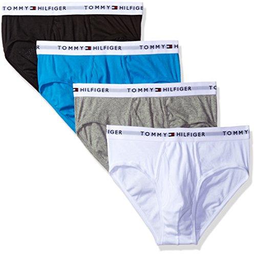 tommy-hilfiger-mens-underwear-4-pack-cotton-classics-hip-briefs-teal-heather-grey-white-navy-large