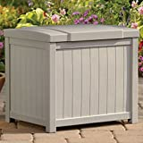 Suncast Nexus Premium 22-Gallon Small Outdoor Storage Resin Deck Box - SS900 Plastic Fade-Resistant Stay-Dry