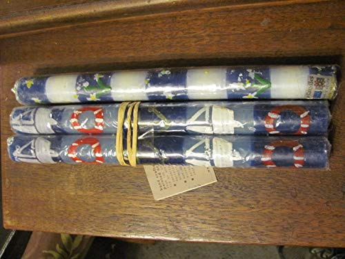 3 colorful hand painted African holiday taper candles, never used