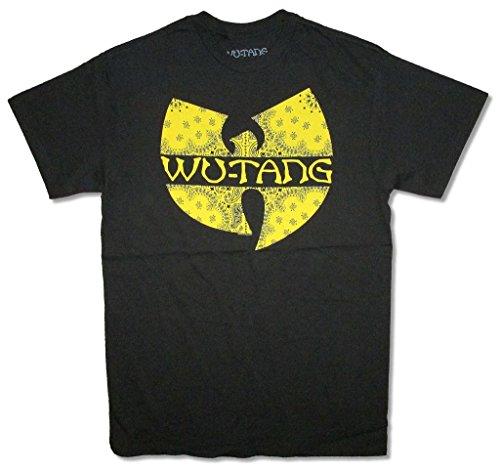 Wu Tang Ornate Bat Black T Shirt Rap Hip Hop Killa Bees (S)