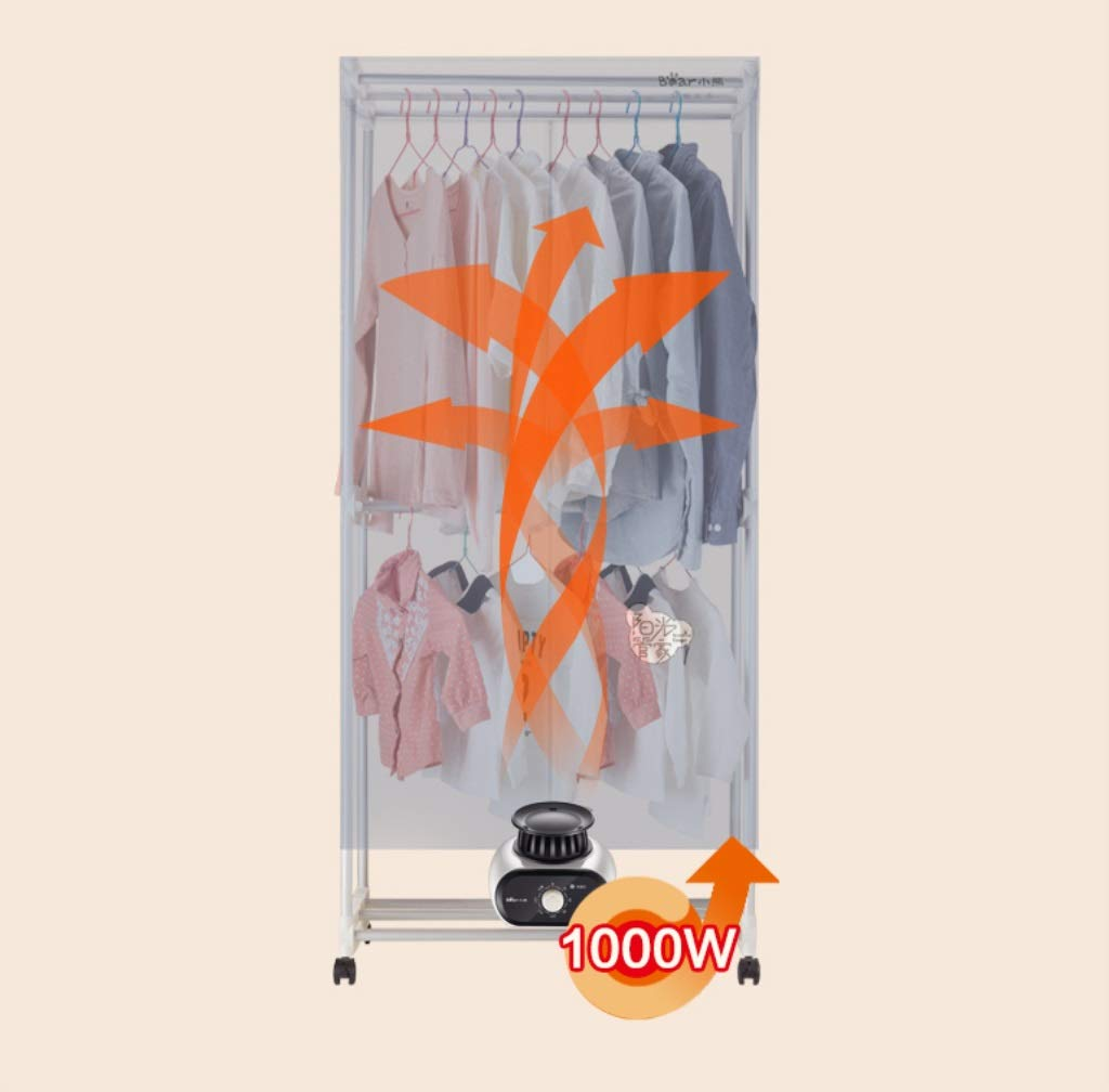Amazon.com: ZJ-Dryer Clothes Dryer- Baby Clothes Dryer 1000W Electric Laundry Drying Rack Dryer,Saving Warm air Dryer Small Clothes Hanger Wardrobe Machine ...