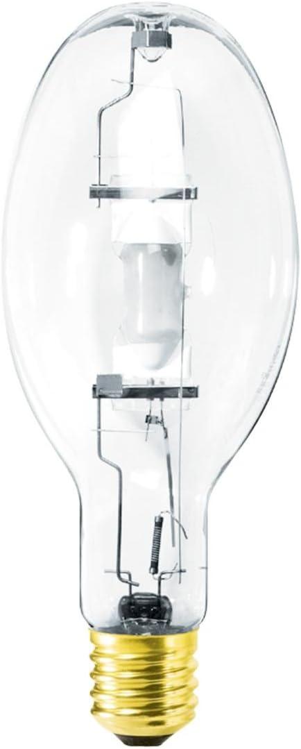 MVR400/U GE 400 Watt Metal Halide (MH) Clear ED37 Mogul Base M59/S Ballast 4000K Lamp