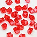WELMATCH Acrylic Color Ice Rock Crystals Treasure Gems for Table Scatters, Vase Fillers, Wedding, Banquet, Party, Event, Birthday Decoration