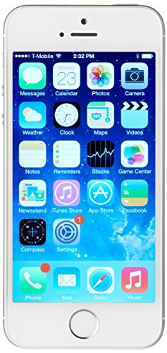 Apple iPhone 5S 16GB GSM Unlocked, Silver (Refurbished)