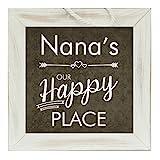 The Grandparent Gift Nana Frame Happy Place Grandparent Sign
