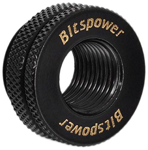 """Bitspower G1/4"""" CaseTop Water-Fill Set, Matte Black"""