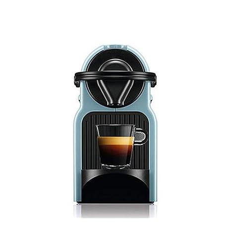 Máquina de café automática Cápsula Máquina Tipo de Bomba Negro Cielo Azul Rojo (Color :