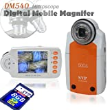 SVP DM540(with 8GB) 2.7'' LCD Digital Mobile Microscope/Maginifier with Build-in Camera