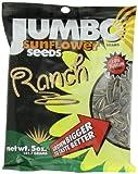 JUMBO SUNFLOWER SEEDS Sunflower Seeds, Ranch, 5-Ounce (Pack of 12)