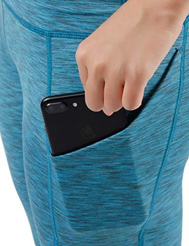 ODODOS Out Pocket High Waist Yoga Pants,Tummy Control,Pocket Workout Yoga Pant 4