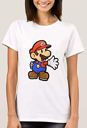 T-Shirt with design for Women, Mario