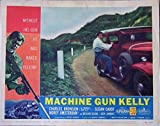 Machine Gun Kelly 1958 Authentic, Original Charles Bronson Gangster 11x14 Lobby Card #3 Movie Poster