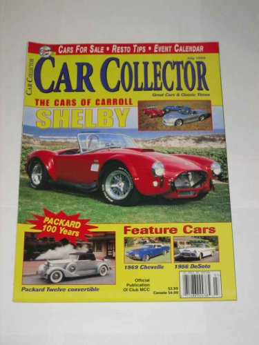 Car Collector Magazine July 1999 1969 Chevelle