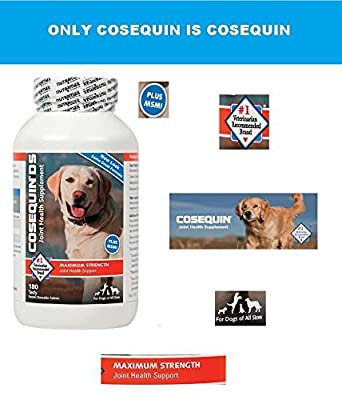 Cosequin DS Plus MSM Joint Health Supplement for Dogs - 180 Chewable Tablets
