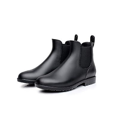 Mini Balabala Donna Chelsea Pioggia Stivali Ragazza Bassi Lavoro Giardino Stivaletti Antiscivolo Wellington Ankle Boots