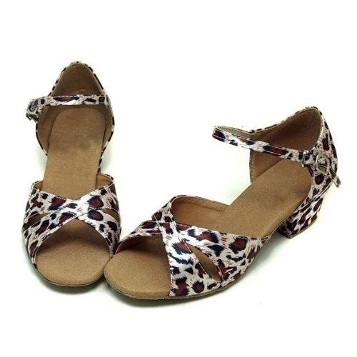 satin EU35 Tiger Colorfulworldstore en ~ latine with Chaussures danse pour Tiger Single de EU28 filles 8S48qO