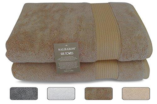 Silk Bath Towel Set - 1