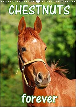 Book Chestnuts Forever 2017: Beautiful Photographs of Magnificent Chestnut Horses for a Whole Year (Calvendo Animals)