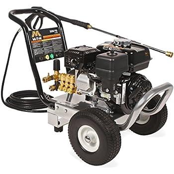 Mi-T-M WP-3200-0MHB WP (Work Pro) Series Pressure Washer, Gasoline Direct Drive, 3200 psi, 2.4 GPM, 196 cc Honda OHV Engine