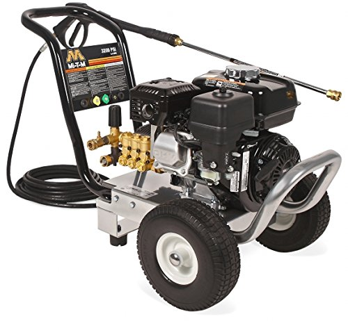 Mi-T-M WP-3200-0MHB WP (Work Pro) Series Pressure Washer, Gasoline Direct Drive, 3200 psi, 2.4 GPM, 196 cc Honda OHV Engine by Mi-T-M (Image #1)