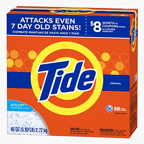 Tide Ultra He Original Scent Powder Laundry Detergent, 68 Loads, 95 - New Tide Product