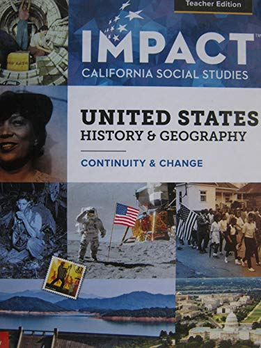 United States History & Geography: Continuity & Change California Teacher Edition
