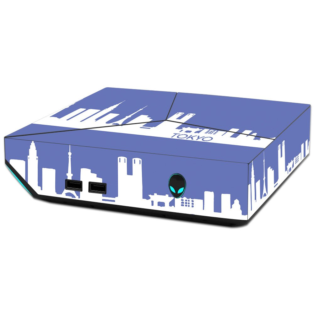 MightySkins Skin For Alienware Steam Machine - Tokyo   Protective, Durable, and Unique Vinyl Decal wrap cover   Easy To Apply, Remove, and Change Styles   Made in the USA
