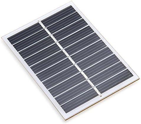 Xatan Mini Solar Panel Solarmodul DIY Batterie Solarzelle Ladegerät zur Aufladung in Verschiedenen Mustern(6V/1.1W/200mA) (5V/0.8W/160mA)
