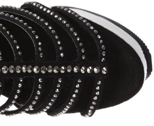 Sandalias talla negro Pleaser 40 color mujer TAxnqCwU6