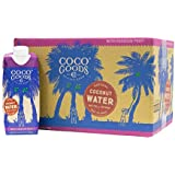 CocoGoods Co. Vietnam Single-Origin Natural Coconut Water with Fresh Passion Fruit Juice 16.9 fl. oz (Pack of 12)