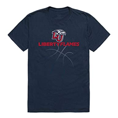 343333c0 Liberty University Flames NCAA Basketball Tee T-Shirt | Amazon.com